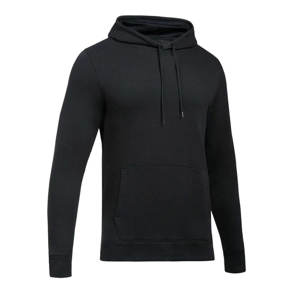 Black Hustle Fleece Hoody