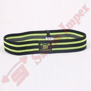 BLACK/NEON GREEN ANTI-SLIP HIPBANDS (2inch Wide)