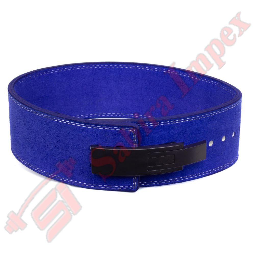 LEVER BUCKLE BELT BLUE