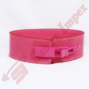 LEVER BUCKLE BELT PINK (With Pink Lever Buckle)