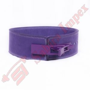 LEVER BUCKLE BELT PURPLE (with Purple Lever Buckle)