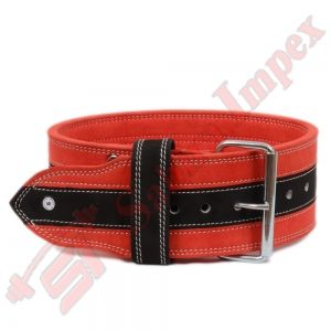 SINGLE PRONG POWER BELTS Red/Black